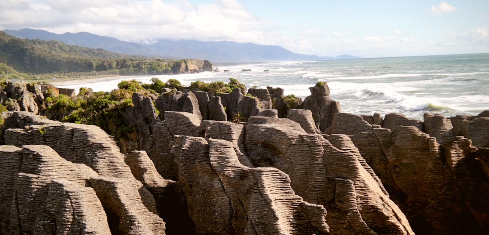 Pancake Rocks   Südinsel Neuseeland